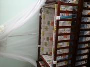 Продам бу детскую кроватку,   Автокресло и стульчик
