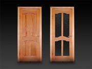 Деревянные двери в Усть-Каменогорске