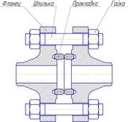 Комплект ответных фланцев (КОФ) Ду15-1000мм Ру1, 0-20, 0МПа