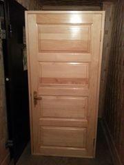 Изготовление деревянных дверей из сосны в Усть-Каменогорске