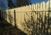 Деревянный забор,  штакетник в Усть-Каменогорске