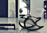 Кресла-качалки, кресла-глайдеры, столы, релакс зоны.
