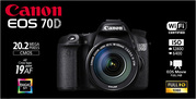 Продам Canon EOS 70D Kit 18-135 mm WI-FI СРОЧНО