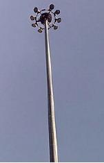 Молниеотводы МОГК.   Прожекторные мачты до 40 метров.